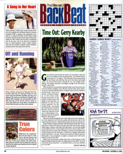 billboard magazine profile 10/2001